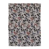 Disney Mickey Mouse Super Soft Plush Baby Blanket in Gray, Size 36.0 H x 30.0 W x 0.32 D in   Wayfair 2597501