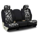 Tailored Seat Covers Neosupreme Designer Hawaiian Black with Black Sides for 2018-2019 Ford Truck F-150/250/350 NO SuperDuty