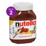 Nutella Nut Butters and Spreads 31 - 2-Ct. Hazelnut Spread Set