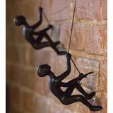 Latitude Run® 2 Piece Climbing Man Wall Decor Set, Size 6.0 H x 3.0 W in | Wayfair 676685035141