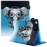 Dteck iPad 2 Case, iPad 3 Case, iPad 4 Case, Dteck Corner Protection Folio Folding Kickstand Protective Cover Case with Auto Wake/Sleep for Apple iPad 2nd/3rd/4th Generation 9.7 inch, Doctor Elephant