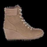 Merrell Women's Tremblant Wedge Boot Waterproof, Size: 11, Stone