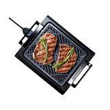 Granite Stone Diamond Electric Grills Black - Black Smokeless Grill