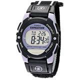 Timex Unisex T49658 Expedition Classic Digital Chrono Alarm Timer Black Fast Wrap Velcro Strap Watch