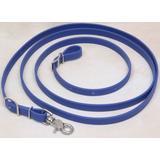 "Big Black Horse Roper Style Beta 5/8"" Reins - Royal Blue"