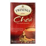 TWININGS Tea Leaves & Bags - Chai Tea - 1 Box of 20