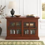 Darby Home Co Fennimore Stackable Standard Bookcase in Brown, Size 30.0 H x 47.0 W x 16.0 D in | Wayfair EBA9145477B24C25A4D02BCC11B40770