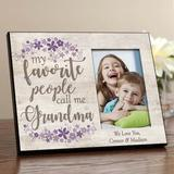 Red Barrel Studio® Hobby My Favorite People Call Me Personalized Picture Frame in Gray, Size 8.0 H x 10.0 W x 0.75 D in | Wayfair
