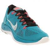 Nike Women's Lunarglide + 5 Running Shoes 599395-310 Tropical Teal/Black/Atomic Red/White