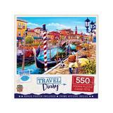 Masterpieces Puzzles - Travel Diary Venice 550-Piece Puzzle