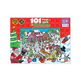 Masterpieces Puzzles - 101 Things to Spot At Christmas 101-Piece Puzzle