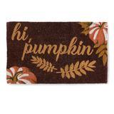 Hi Pumpkin Coir Door Mat - Grandin Road