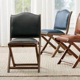 Augusto Folding Chair - Brown - Grandin Road