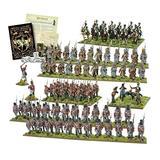 Black Powder Waterloo Second Edition Starter Set 19th Century Military Wargaming Plastic Model Kit