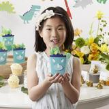 Kate Aspen Dinosaur Popcorn Paper Disposable Party Favors Paper in Blue | Wayfair 28452NA