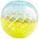 Cyan Designs Round Honeycomb Vase-Urn - 09206