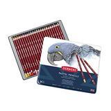 Derwent Pastel Pencils, 4mm Core, Metal Tin, 24 Count (32992)