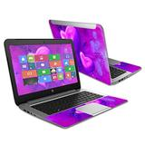 """MightySkins Skin Compatible with HP Stream 14"""" (2015) Laptop Cover wrap Sticker Skins Purple Heart"""