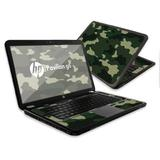 """MightySkins Skin Compatible with HP Pavilion G6 Laptop with 15.6"""" Screen wrap Sticker Skins Green Camo"""