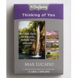 DaySpring Greeting Cards - Thinking of You Greeting Card - 1 Box of 12