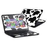 """MightySkins Skin Compatible with Dell Inspiron 15 i15RV Laptop 15.6"""" (Released 2013) wrap Sticker Skins Cow Print"""