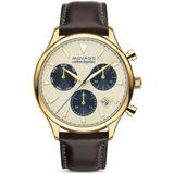 Heritage Calendoplan Chronograph - Metallic - Movado Watches