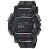 Timex Men's TW4B17900 Expedition Digital CAT 47mm Black/Negative Resin Strap Watch