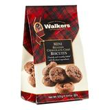 Walkers Shortbread Cookies - Mini Belgian Chocolate Chip Biscuits