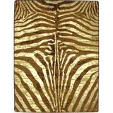 World Menagerie Blanquilla Animal Print Caramel Area Rug in Brown, Size 129.0 H x 92.0 W x 0.38 D in | Wayfair 0210CRL202