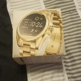 Michael Kors Other | A Michael Kors Access Watch | Color: Gold | Size: I Have Original Links To Adjust