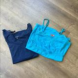 American Eagle Outfitters Tops | Bundle Of 2 Womens Tops | Color: Blue | Size: Xl