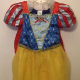 Disney Costumes | Disney Snow White Costume For Girls | Color: Red/Yellow | Size: 910