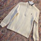 Ralph Lauren Shirts & Tops | Boys Polo Ralph Lauren Long Sleeve Sz 7 | Color: Blue/Cream | Size: 7b