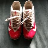 Nike Shoes   Nike Baseball Cleats   Color: Red/White   Size: 2.5bb
