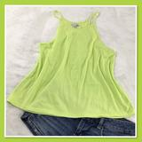 American Eagle Outfitters Tops | America Eagle Lime Green String Strap Tank Xs | Color: Green | Size: Xsj