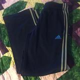 Adidas Bottoms   Adidas Pants Size 1416 Polyester Pants   Color: Blue/Gray   Size: 14b