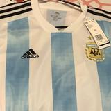 Adidas Shirts | Adidas Argentina National Soccer Team Jersey | Color: Blue/White | Size: Xl