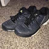 Adidas Shoes | Adidas Tennis Shoes | Color: Black/Yellow | Size: 9.5