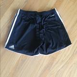 Adidas Bottoms | Adidas Sz 12 Black White Soccer Shorts Comfortable | Color: Black/White | Size: 12g