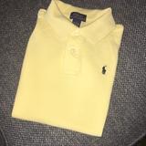 Polo By Ralph Lauren Shirts & Tops | Boys Polo Ralph Lauren Shirt | Color: Yellow | Size: 7b