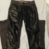 American Eagle Outfitters Pants & Jumpsuits   American Eagle Leather Pant   Color: Black   Size: 0