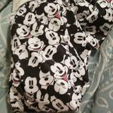 Disney Other | Disney Junior Footless Tights | Color: Black/White | Size: Juniors Sm. Fits 90-120 Lbs