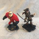 Disney Other | Disney Infinity Mr. Incredible & Jack Sparrow | Color: Brown/Red | Size: Os