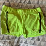 Nike Shorts | Nike Spandex | Color: Green/Yellow | Size: S