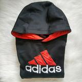 Adidas Shirts | Adidas Pullover Sweatshirt Hoodie Size Xl 18. | Color: Black/Red | Size: Xl 18