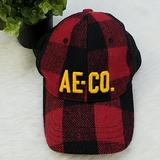 American Eagle Outfitters Accessories | American Eagle Hat | Color: Black/Red | Size: Os