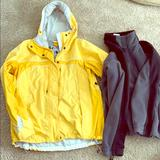 Columbia Jackets & Coats | 2-Piece Detachable Coatjacket By Columbia | Color: Black/Yellow | Size: L