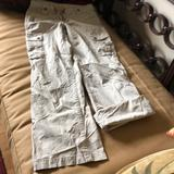 J. Crew Pants & Jumpsuits | J Crew Chino Cargo Pants | Color: Cream | Size: 0