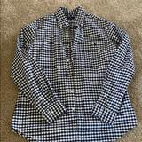 Ralph Lauren Shirts | Mens Ralph Lauren Classic Fit Button Down | Color: Black/White | Size: M