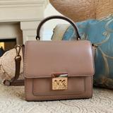 Michael Kors Bags | Michael Kors Top Handle Mini Bag | Color: Tan | Size: Os